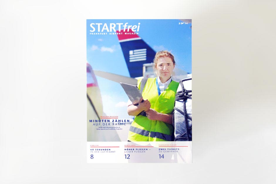Startfrei, Editorial Design, Fraport